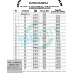 DHA City Karachi (DCK) 500 SQ Yards Residential Plot Payment schedule
